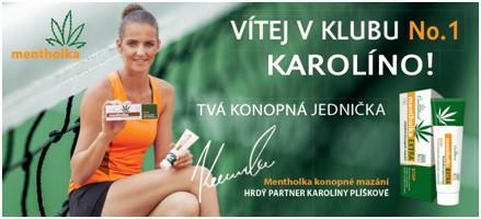Karolína Plíšková to s Mentholkou dotáhla až na tenisový trůn!
